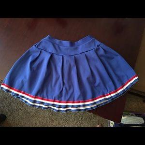 Vintage Cheerleader skirt, unbranded & awesome!